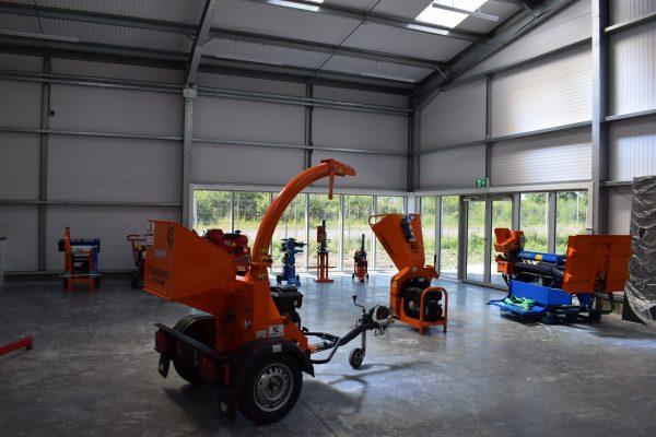 The inside of Kipper Hire's new premises built by Algo Construction