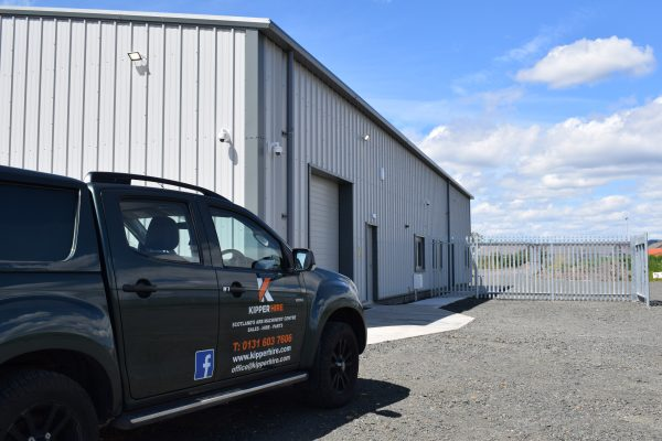 Kipper Hire new premises in Kinross built by Algo Construction